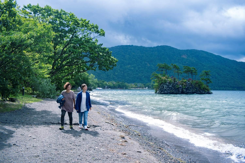 レズビアンフォト湖